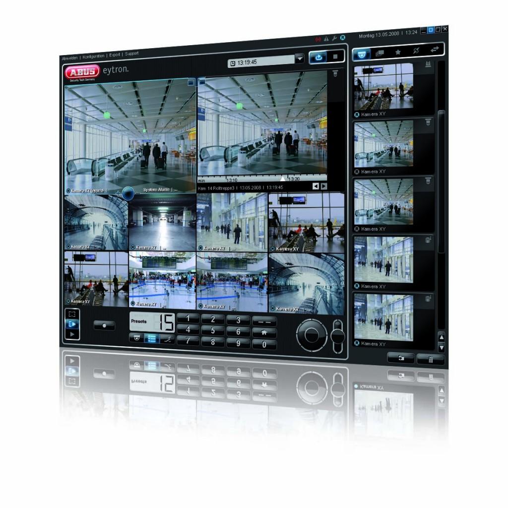 videomanagementsoftware zur Überwachung