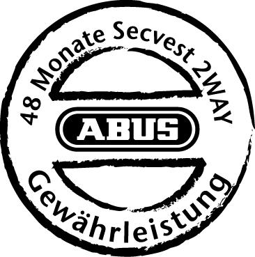 Gewähleistung Secvest