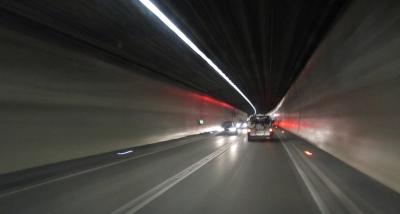 Tunnelfahrt