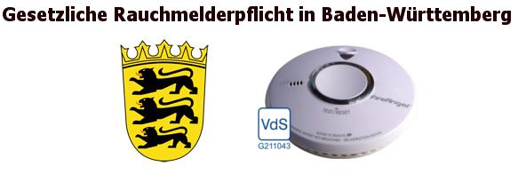 Baden-Württemberg-Rauchmelder