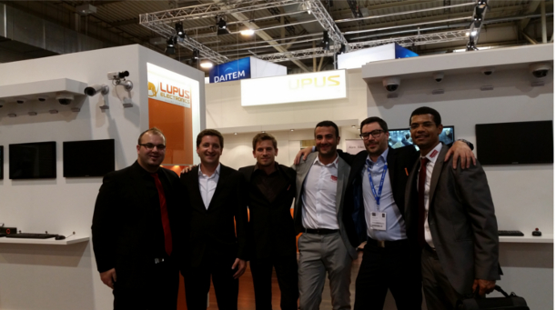 Lupus Electronics & EXPERT-Security Messe 2014